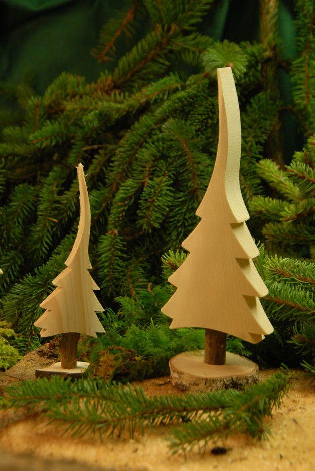 **Naturbelassener Tannenbaum aus Massivholz** mod…