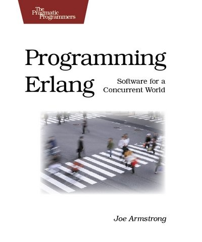 Book cover of Programming Erlang