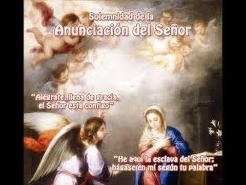 Solemnidad de la Anunciación del Señor-Sábado 25 Marzo 2017-A-