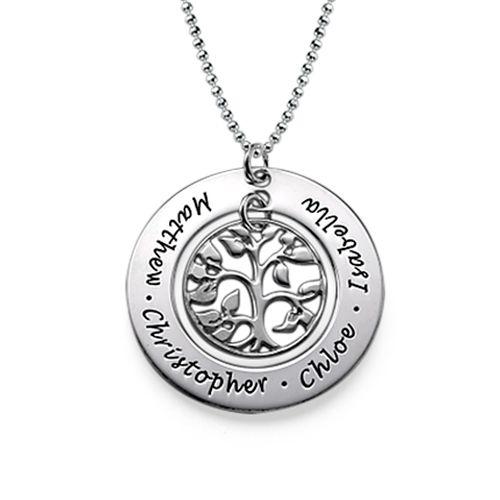 Family Tree Necklace   MyNameNecklace
