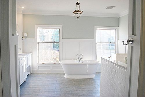 Sherwin williams sea salt a soft neutral blue green for Sherwin williams bathroom paint colors
