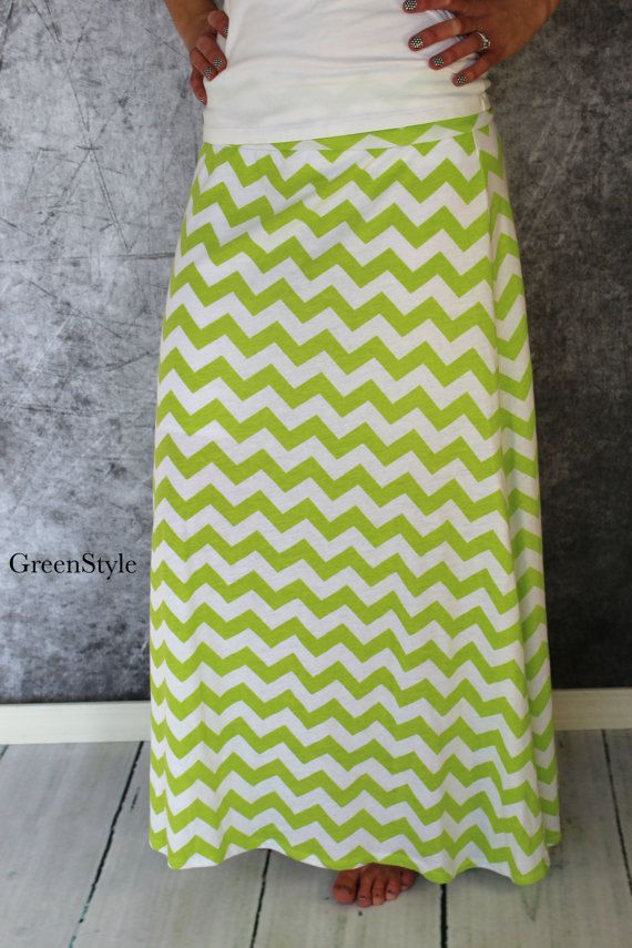 Instant Download Greenstyle Amy Chevron Skirt EASY Sewing Pattern for Women's Plus Sizes  XL to 4X with Yoga Waistband