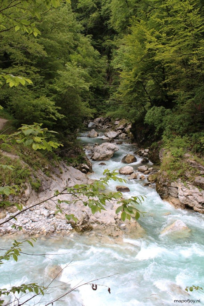 Doen in Sloveni wandelen door de Tolmin