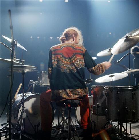 Ginger Baker, England 1968... Cream Farewell Concert, Royal Albert Hall, London. © Robert Whitaker