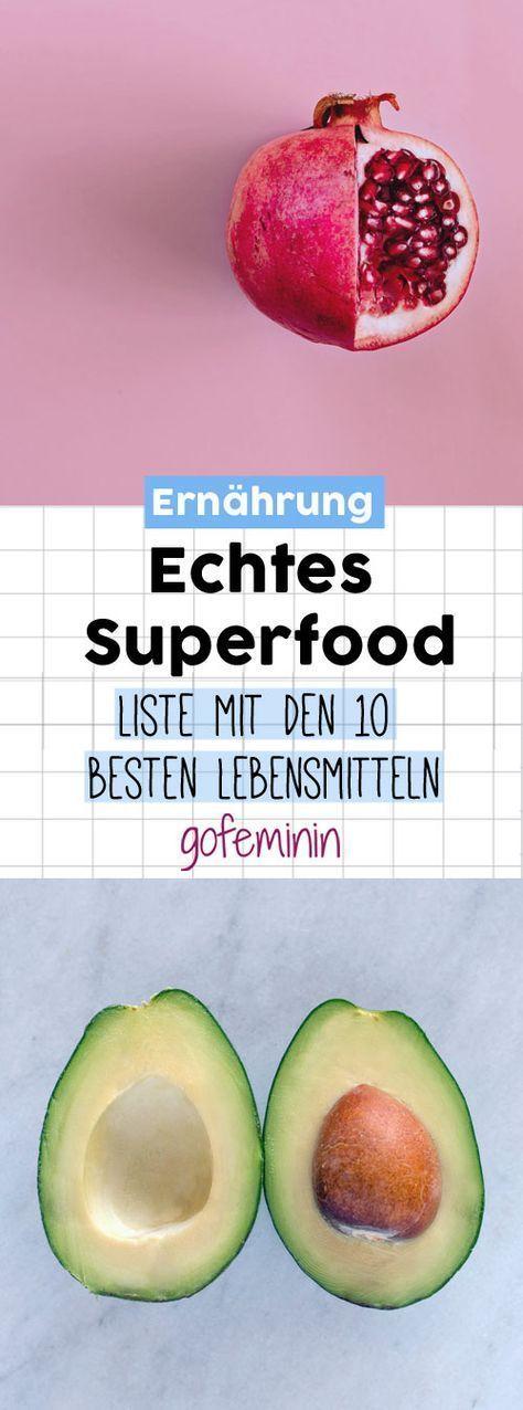 Die ultimative Superfoods Liste: Das sind WIRKLICH die 10 besten Lebensmittel!
