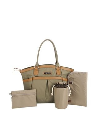 56% OFF Perry Mackin Harper Diaper Bag, Olive, One Size