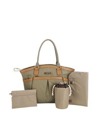 56% OFF Perry Mackin Harper Diaper Bag, Olive, One Size