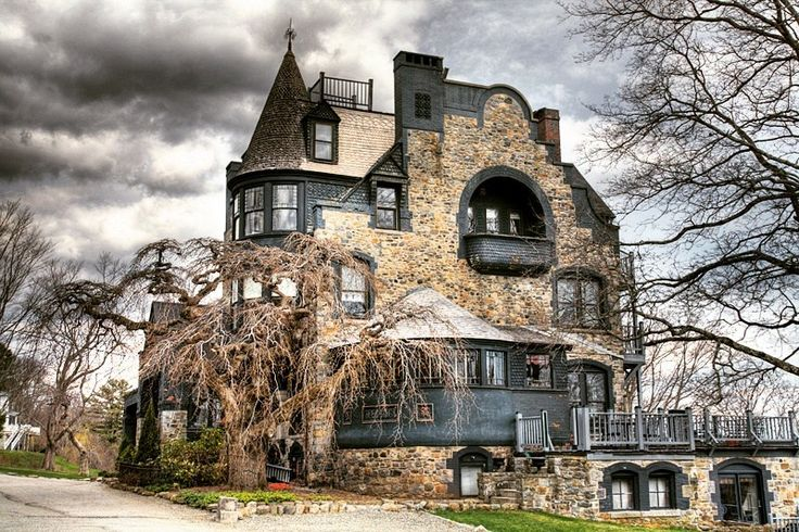 Gothic Victorian Norumbega Castle located in Maine Be sure to check us out on FB- Unique Intuitions  www.Facebook.com/uniqueintuitiins1 #uniqueintuitions #gothic #victorian