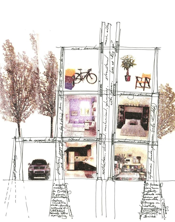 Best Architectural Drawing Rendering Images On Pinterest