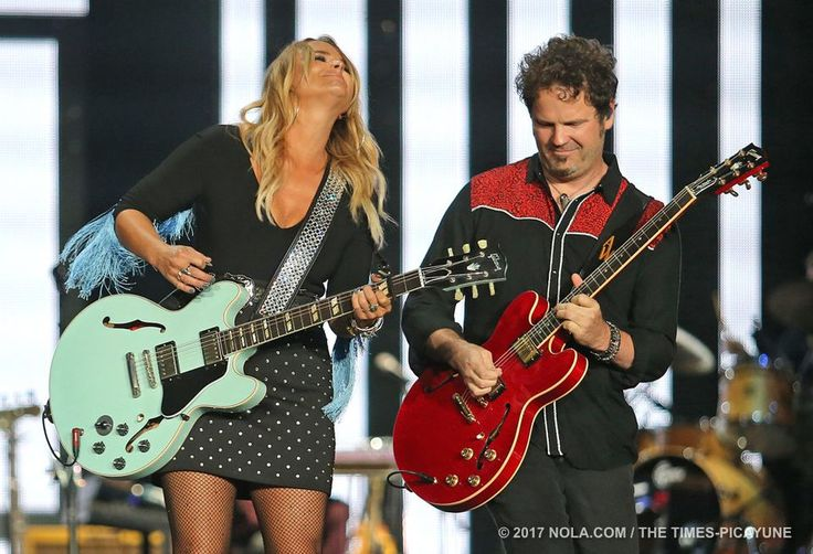 Miranda Lambert performs at Bayou Country Superfest in the Superdome on Saturday, May 27, 2017.