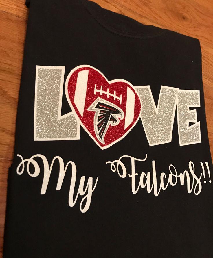 Atlanta Falcons Shirt by SweetandSassyCrafts on Etsy https://www.etsy.com/listing/493579400/atlanta-falcons-shirt
