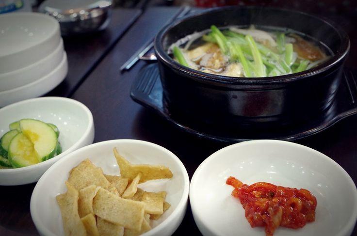 [대치동맛집]황태와물회에서 숙취에 좋은 황태탕과 시원한 물회 즐기기