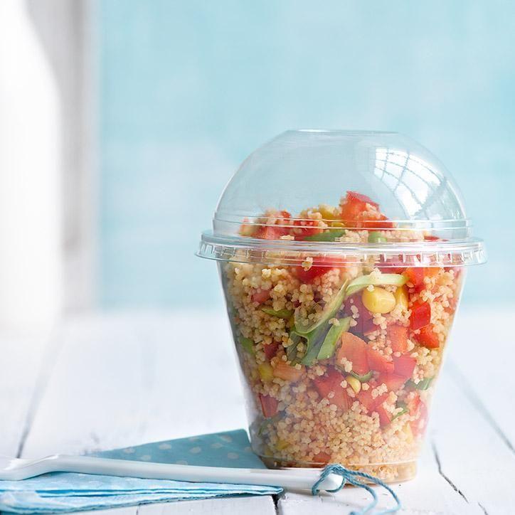 Asiatischer, scharfer Couscous-Salat | Weight Watchers