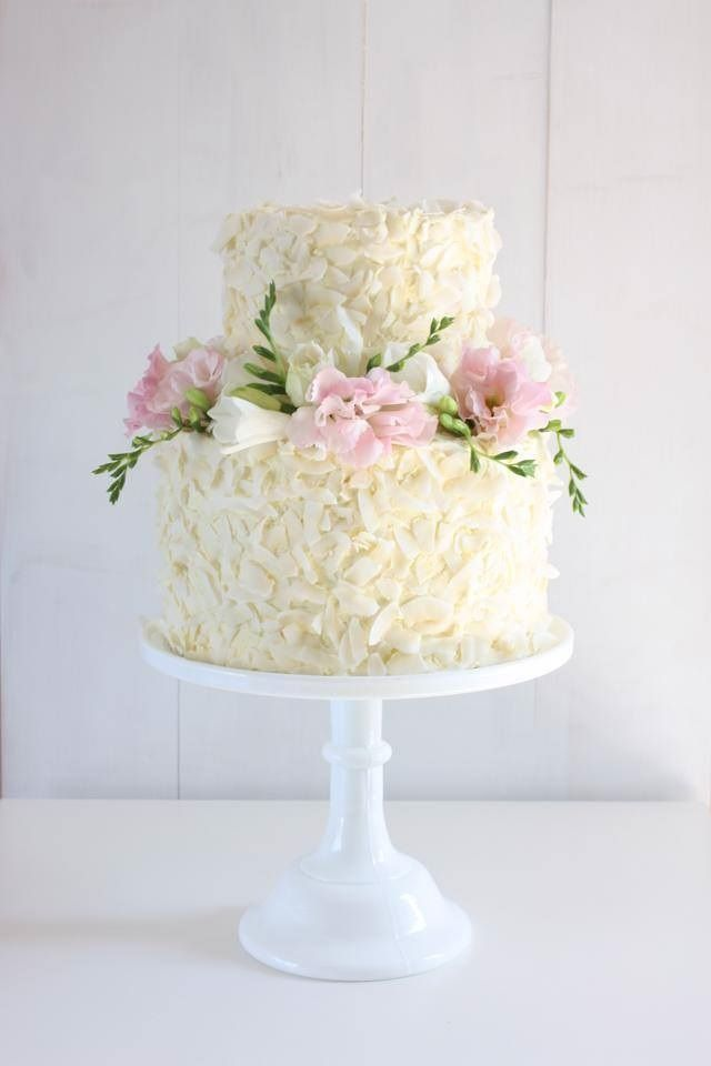 From Cake Ink Coconut Cake Top Tier And White Chocolate