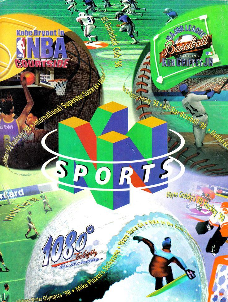 Nintendo 64 Ad - Best of Sports Game (Nintendo Power - 1998)