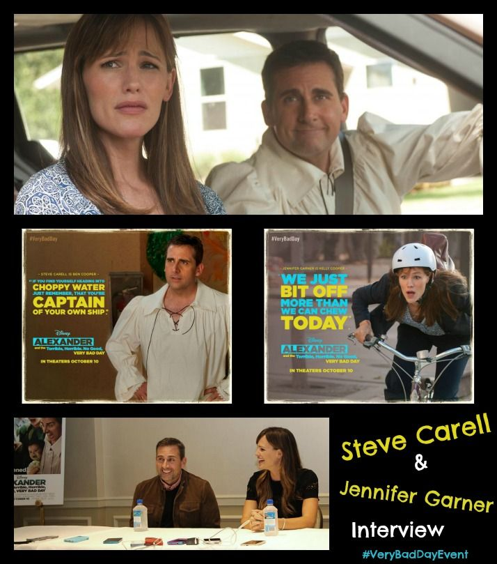 Steve Carell & Jennifer Garner Interview #VeryBadDayEvent