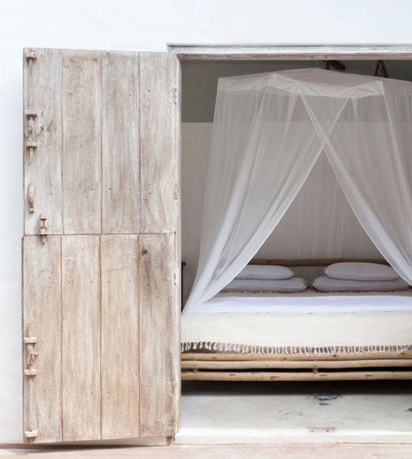 Bedroom, #white #sereen