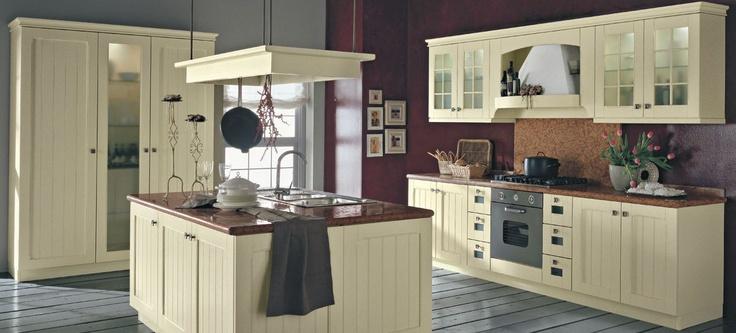 Witte Keuken Met Accentmuur : ... keuken met rode accentmuur De ...