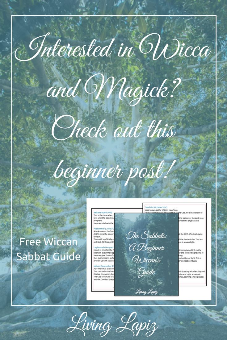 Are you interested in Wicca as a religion? Do you want to learn how to use magick? Do you just think this interesting and want to learn more? Then this post is for you! In this post, I talk about about what Wicca is, the beliefs and the incorporation of magick or witchcraft. This is the perfect post for any beginner Wiccan. Plus I have a free Beginner's Guide to the Wiccan Sabbats! wicca for beginners   witchcraft   wicca   magick