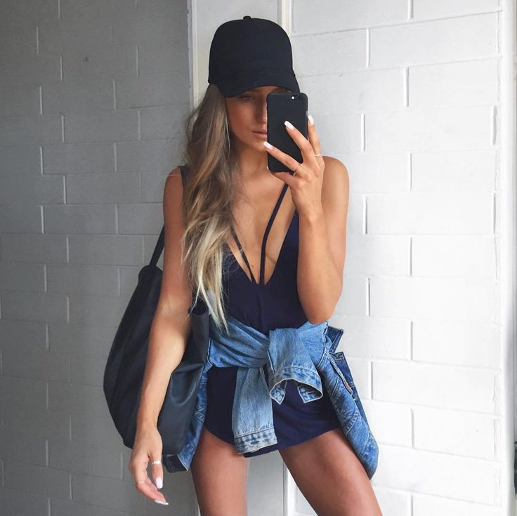 Style tip! Grab your favourite denim jacket and tie it around the waist of your Twilight Playsuit like @staceytonkes ... #SaboSkirt by saboskirt