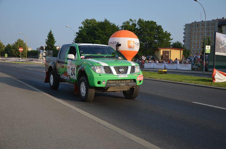 Nissan Navara (Green) Tomasz Piec, Remigiusz Klein