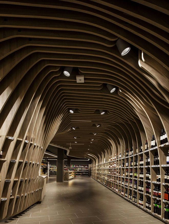 Spar supermarket in Budapest, by Lab5 architects