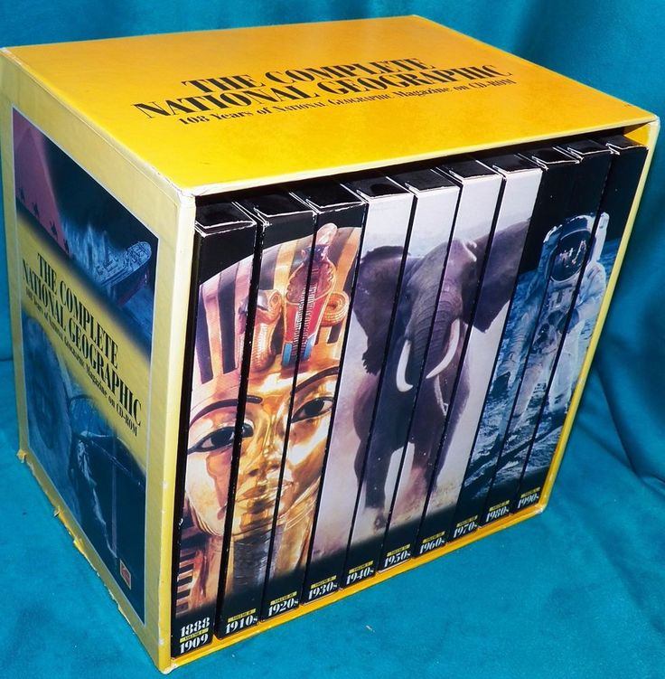The Complete National Geographic 108 Years Magazine CD-ROM Windows 95 PC MAC