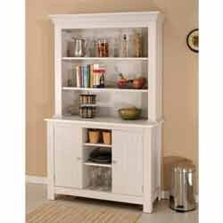 White Painted Hutch Buffet