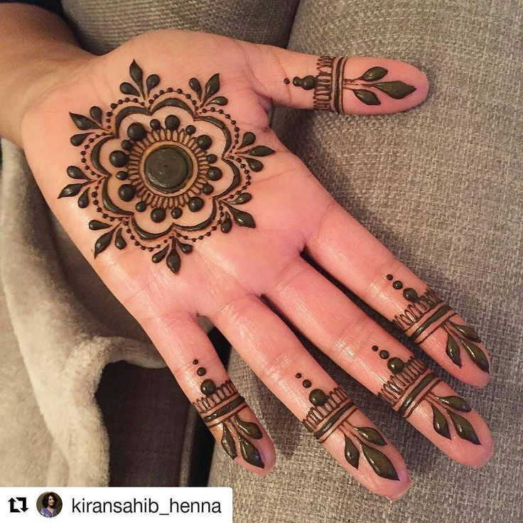Mehndi Designs For Palm