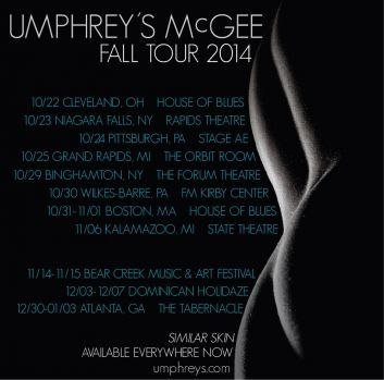 Umphrey's McGee Announce Fall Tour Dates