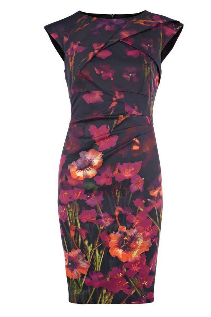 Beautiful fashion printing slim dress_Dresses(d)_DESIGNER_Voguec Shop
