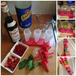 Anyone for a Pimms Ice lolly?
