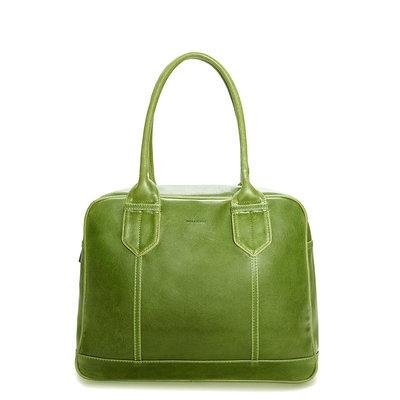 Green Vegan DEVO Purse from Matt & Nat. Beautiful! #vegan #fashion