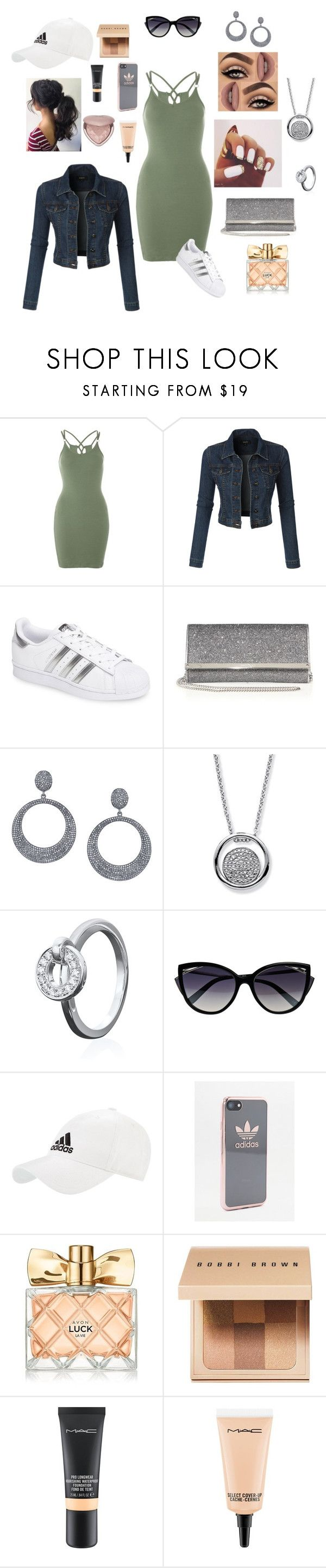 """Night Owl 🦉"" by krystal-love27 ❤ liked on Polyvore featuring Topshop, LE3NO, adidas, Jimmy Choo, Sheryl Lowe, Palm Beach Jewelry, Boodles, La Perla, Lime Crime and Avon"