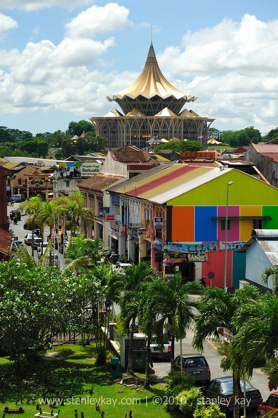 Kuching's cosy scale and mesh of urban parks, nature reserves and wetlands make it highly liveable, and likeable www.bradtguides.com/borneo