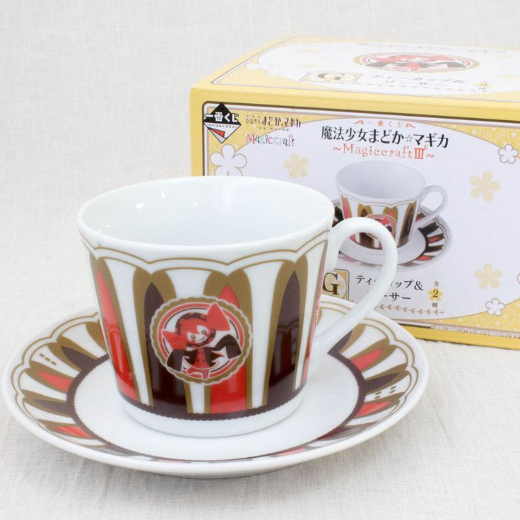 Puella Magi Madoka Magica Sweet Witch Charlotte Bebe Tea cup & Saucer JAPAN