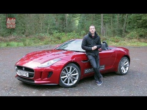 Exclusive: Jaguar F-Type on the road
