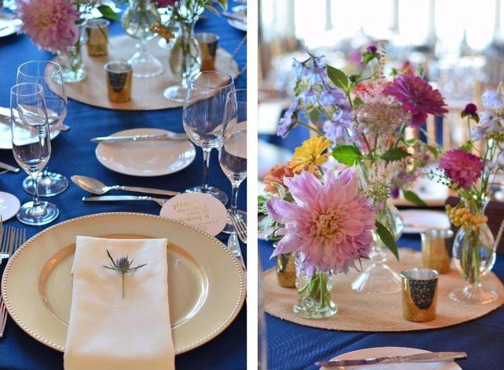 Photo & Flowers: Koko Floral Design  #ウェディング#カラフル #夏#テーブルコーデ #diy #テーブル装花