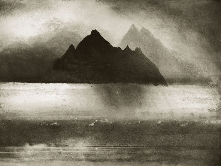 Skellig Rocks, County Kerry. Etching by Norman Ackroyd