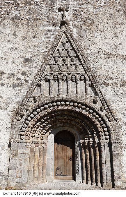 Portico With Pediment, St. Brendan's Cathedral, Clonfert Cathedral ...