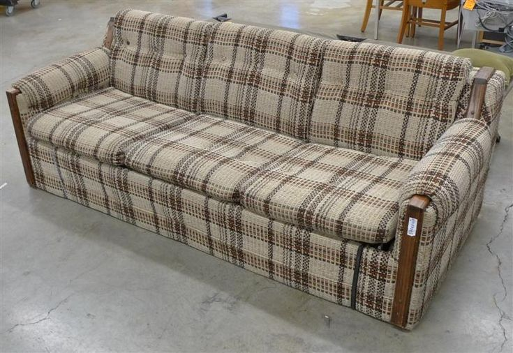 Good Ol 80 S Plaid Couch Plaid Couch Couch Hide A - Sofa Plaid
