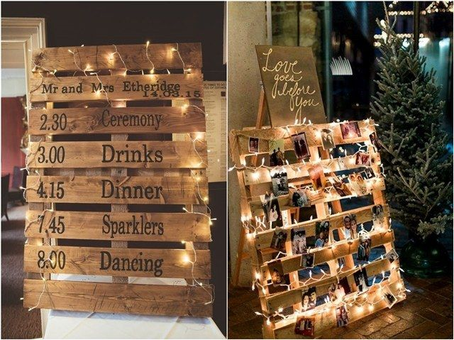 An amazing wood pallet wedding ideas is surfaced hangings or sketches.Affordable wood pallet wedding ideas improve the beauty of surfaces. Creativity and effort can turn recycled timber in a valuable gift.So we sug...