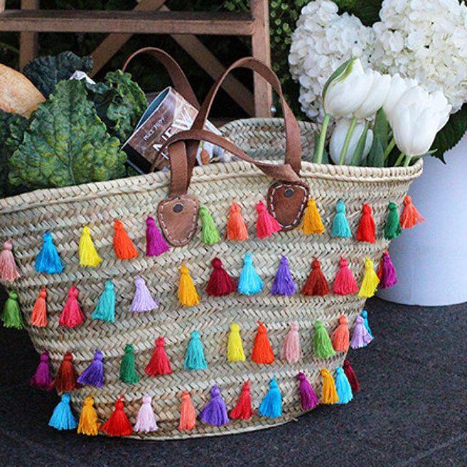Intervenle su nuevo bolso favorito para compras. | 15 Ideas DIY para que vayas preparando el Día de las Madres