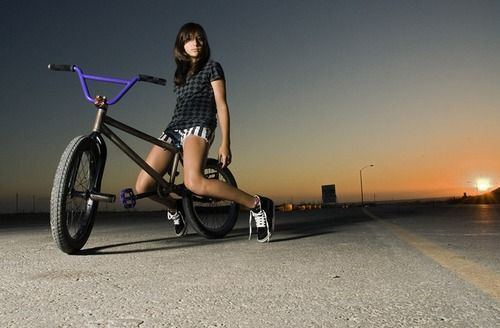 Back in the days of 'BMX Girl' this would have been a prime ...