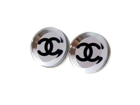 Vintage Chanel stud earrings