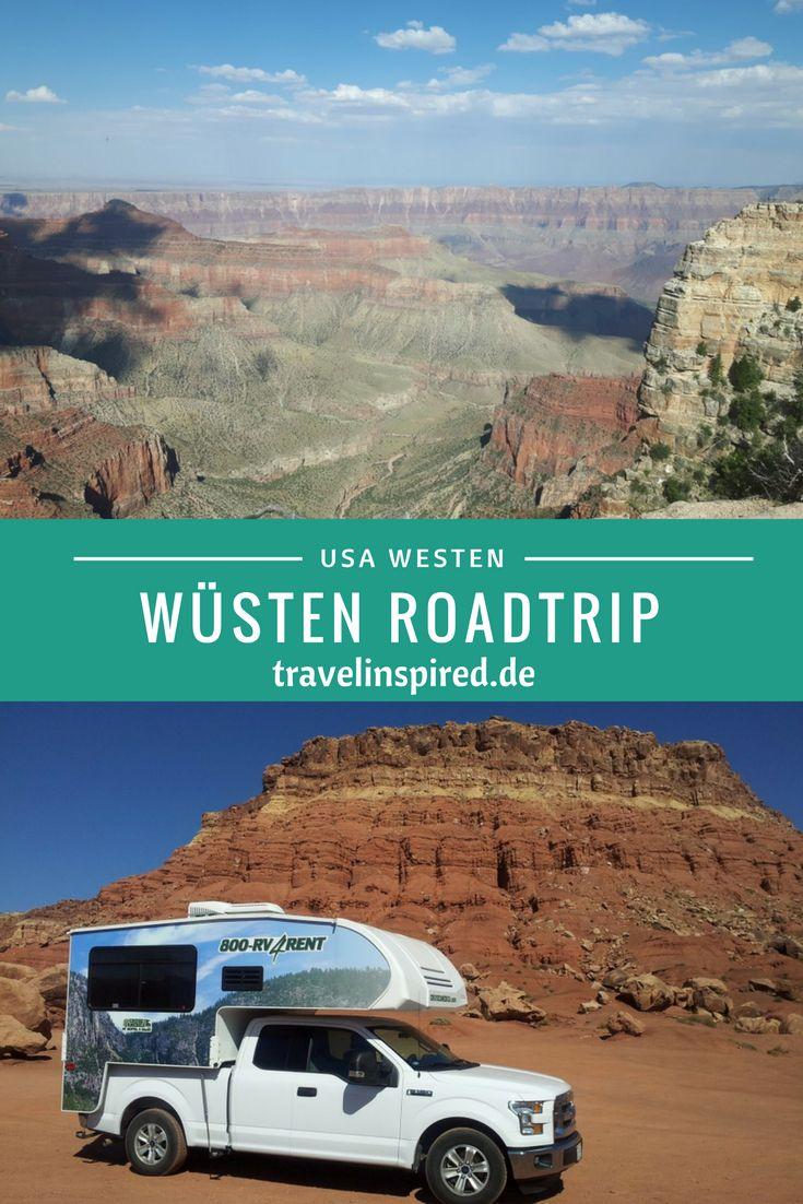 Truck Camper Roadtrip durch die wunderschöne Wüstenlandschaft und Nationalparks im Westen der USA.