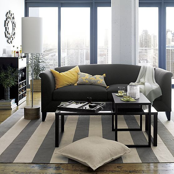 Silhouette Sofa | Crate and Barrel