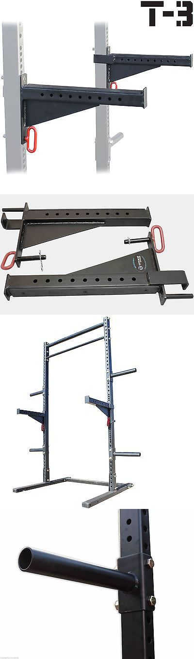 The 25 best ideas about bench press rack on pinterest for Homemade safety squat bar