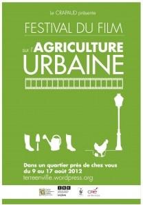 Le Festival du Film sur l'Agriculture Urbaine - FFAU. Du 9 au 16 août 2012. @Ansfrid #MtlOnABudget