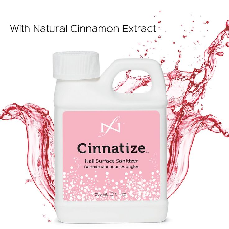 Cinnatize Nail Surface Cleanser at Louella Belle #FamousNames #Cinnatize #NailCleanser #Nails #Manicure #Essentials #Necessities #LouellaBelle